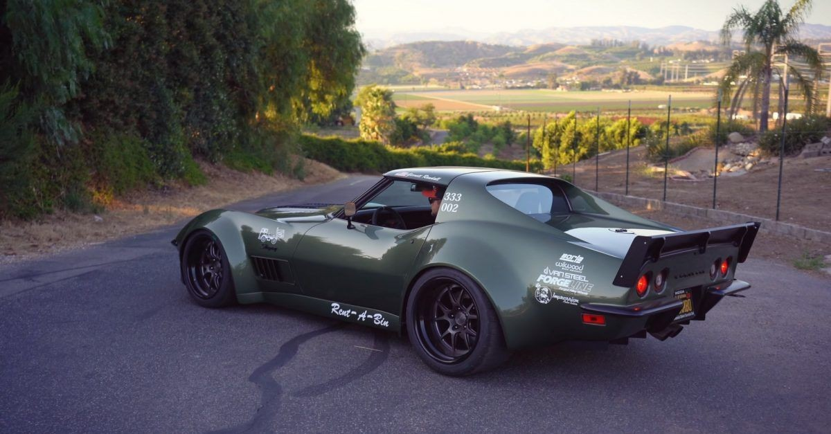 Modified Muscle Cars