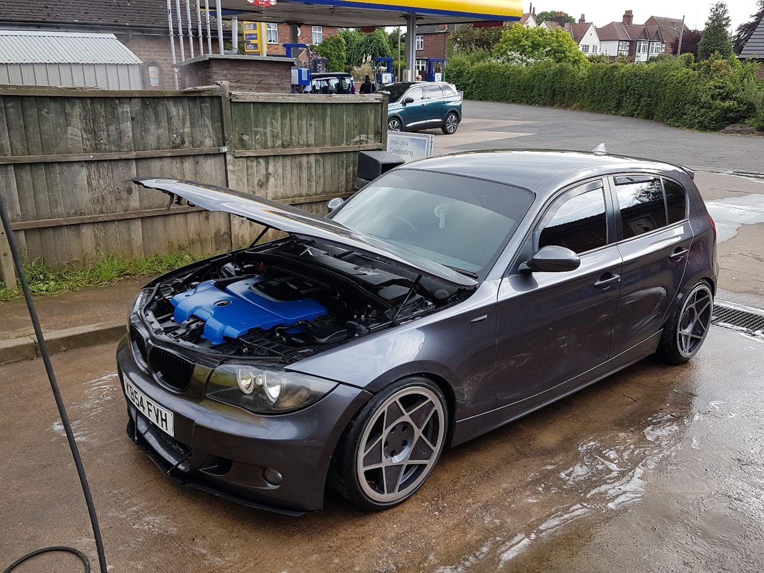 BMW 118D modified