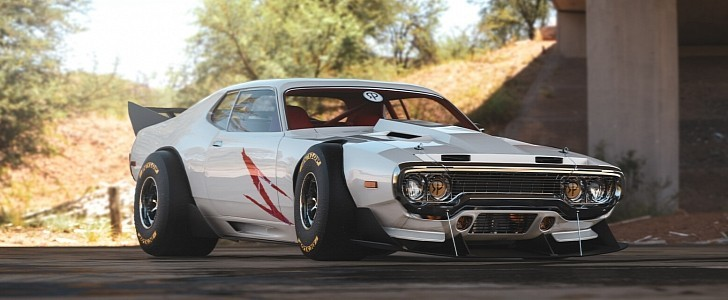 Plymouth gtx speed racer looks like an f1 muscle car 148353 8