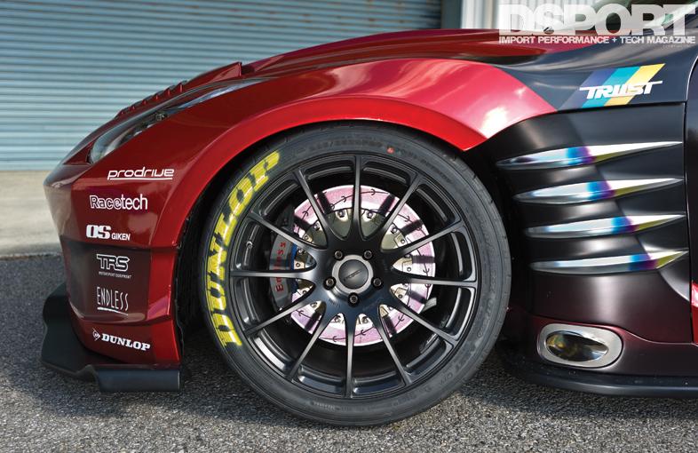 1 200hp greddy 35rx benspora widebody gt r4 alloy wheels