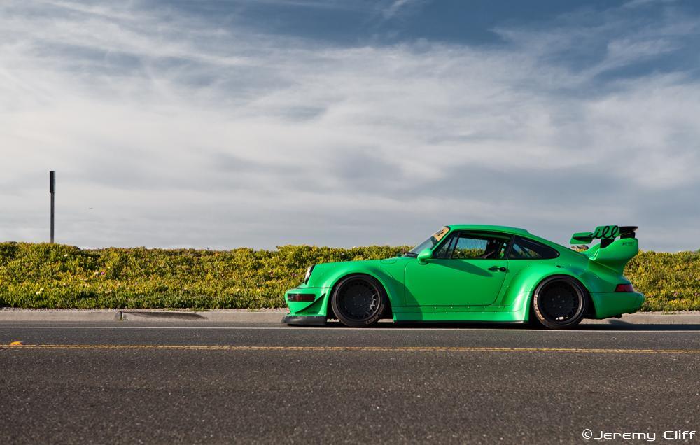 Modified RWB Porsche 911