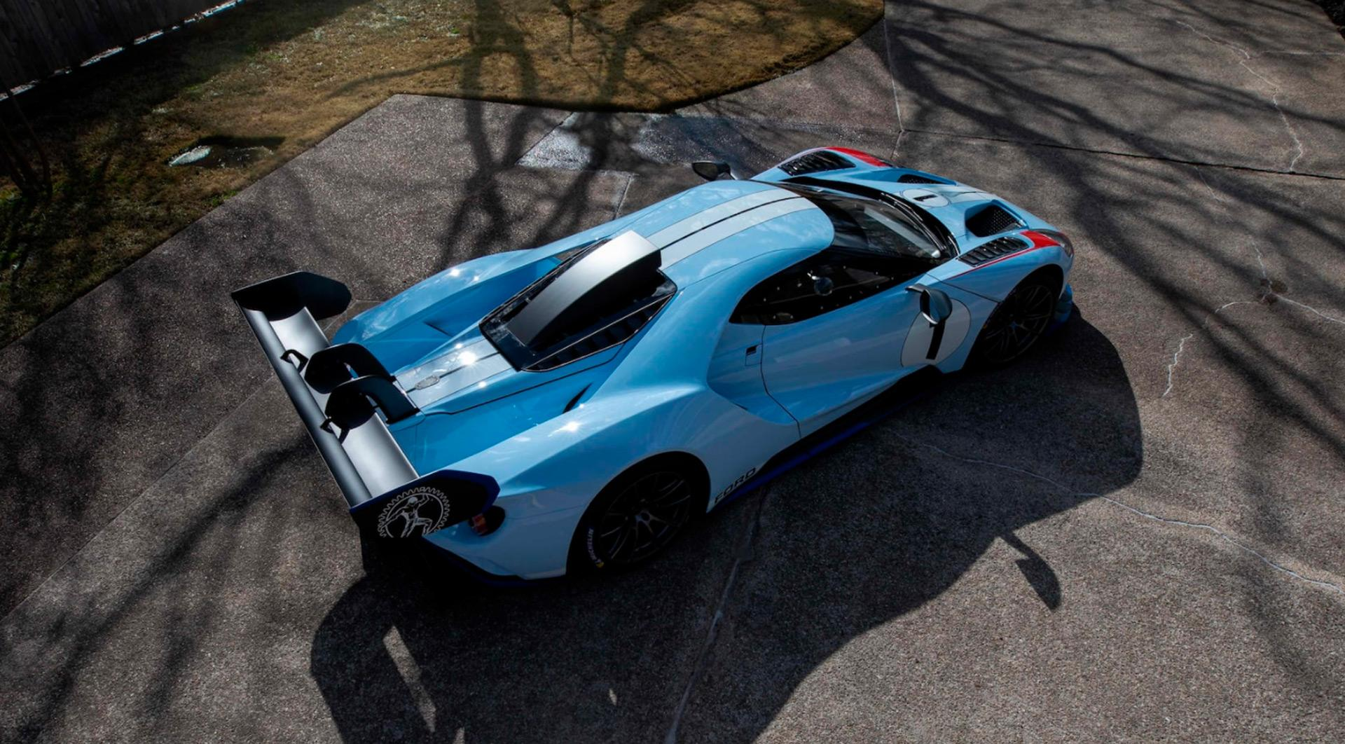 An Ultra-Rare Ford GT Mk 2 Sells For $1.87 Million
