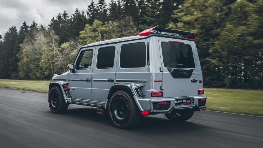 The Brabus 900 Rocket gets 887bhp and a Big Wing