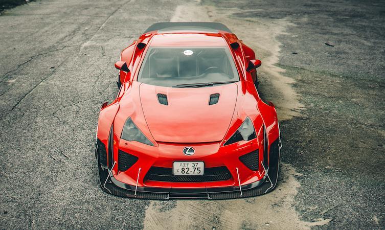 Lexus lfa wide body