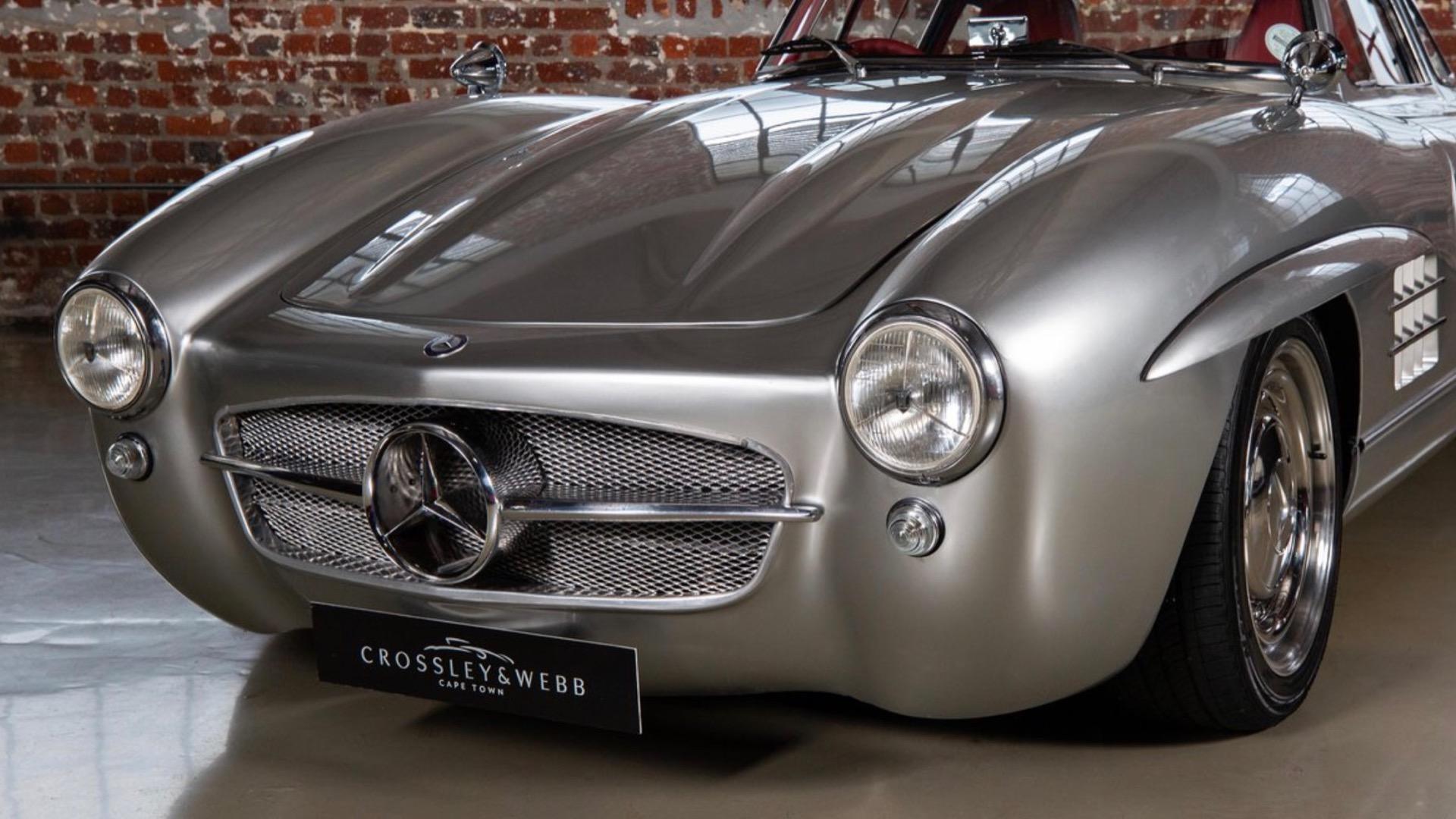 Mercedes benz 300sl gullwing replica photo by crossley webb 100792407 h