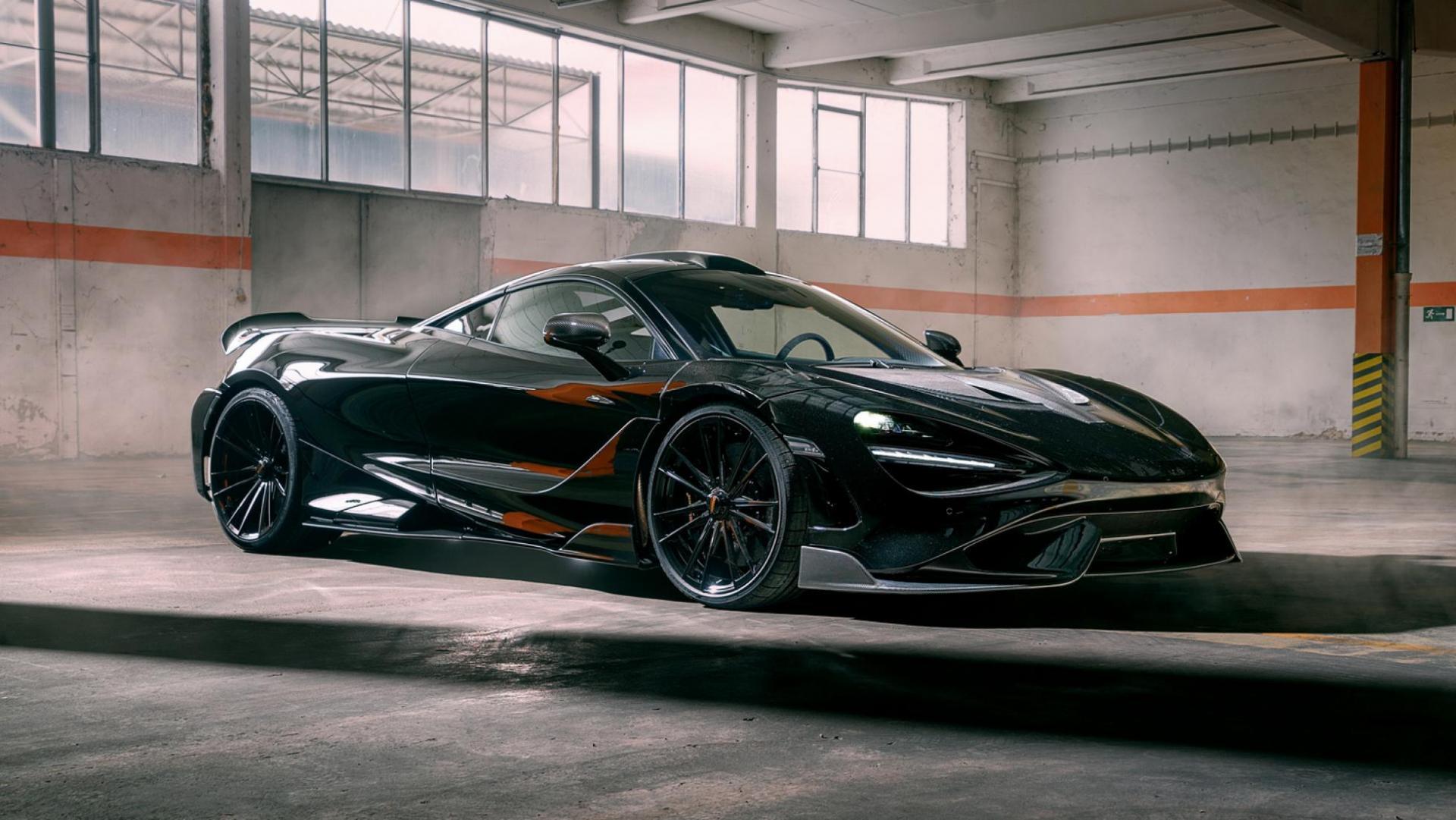 Novitec has given the McLaren 765LT even more power