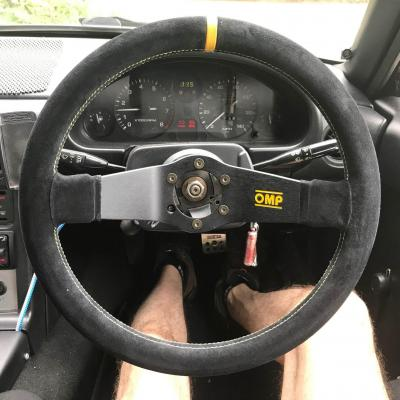 Omp racing steering wheel gsm performance fitted