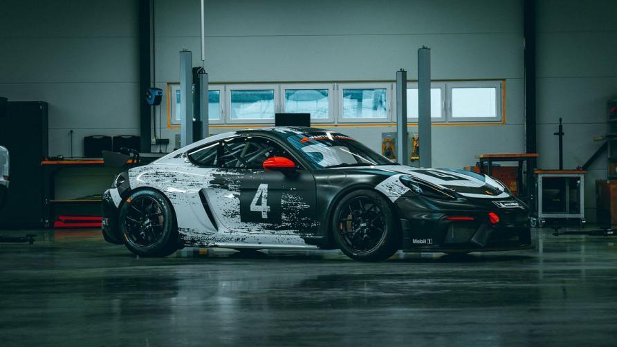Porsche 718 cayman gt4 clubsport trackday mr 2