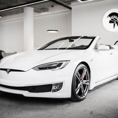 Tesla model s convertible conversion by ares 100777261 h
