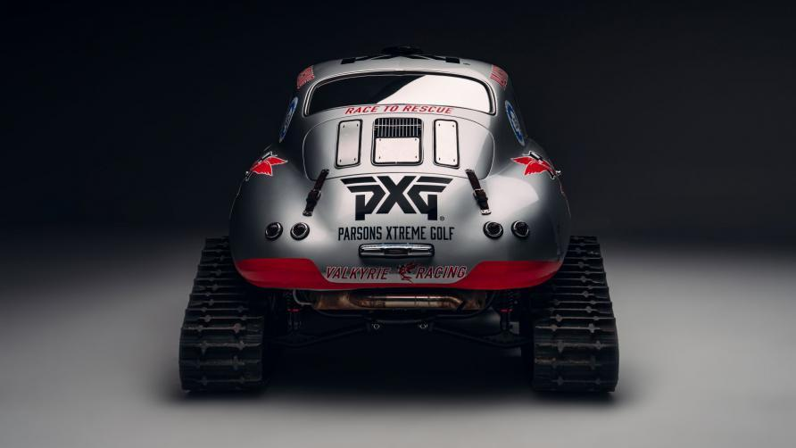 Valkyrie racinga s 356 porsche transformed to a lightweight beast for the snow in prep for 2021 antarctic mission